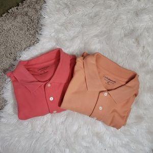 Bundle of 2 men's polo shirts